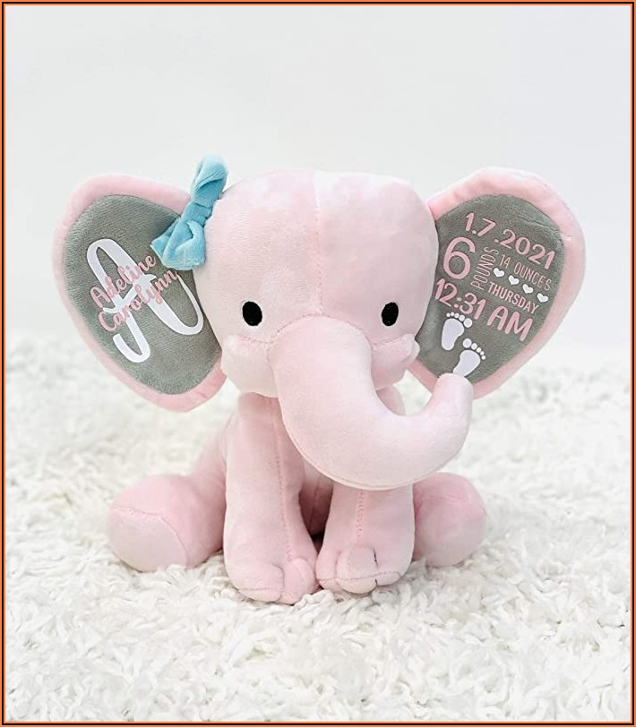 Birth Announcement Stuffed Animal