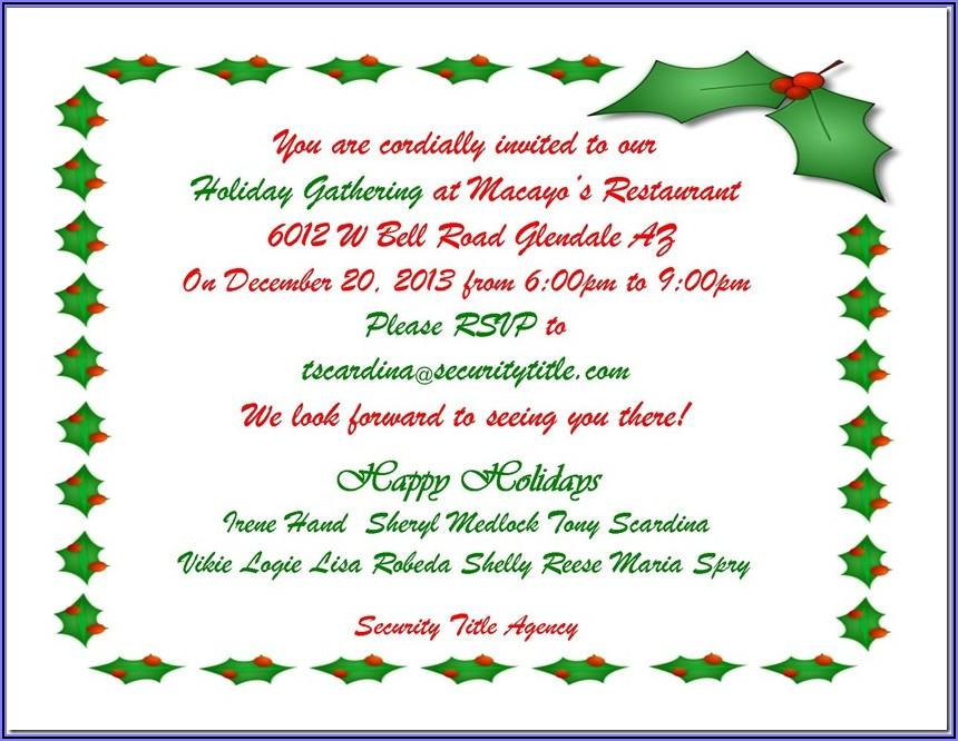 Birthday Invitation Reminder Wording Samples
