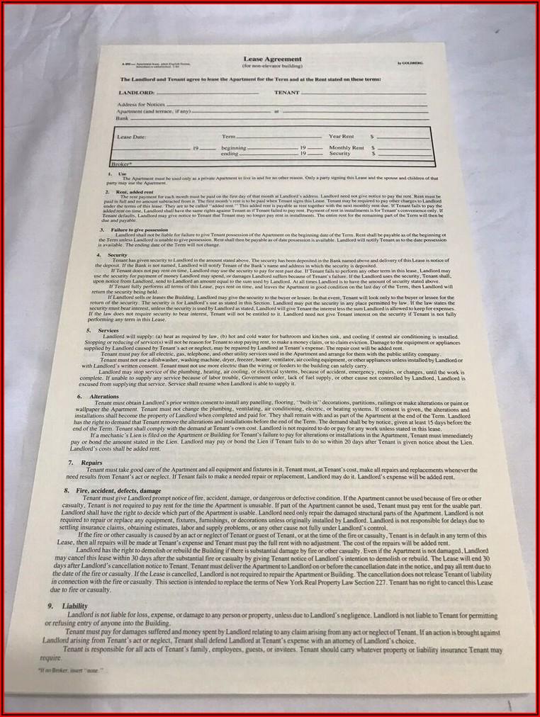 Blumberg Lease Agreement 495