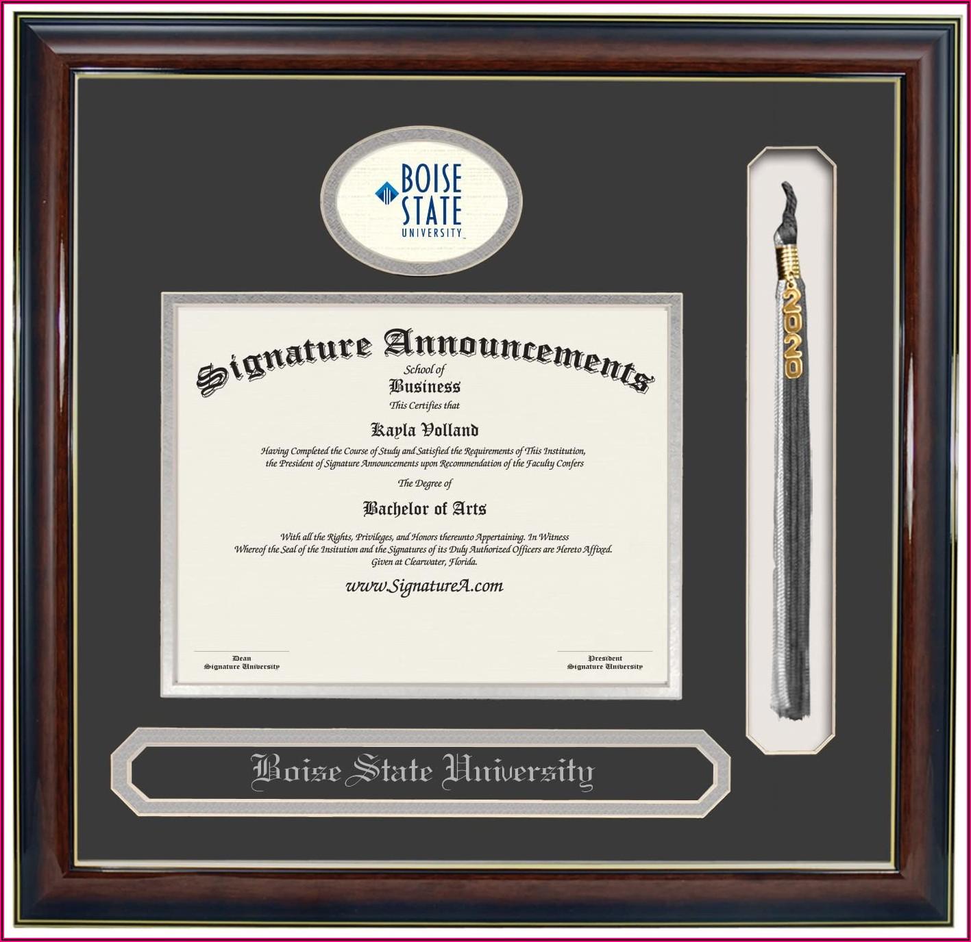Boise State University Graduation Announcements