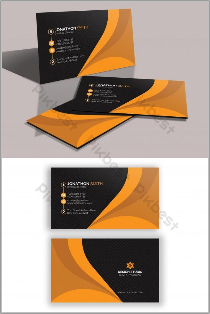 Business Card Design Psd Free Download