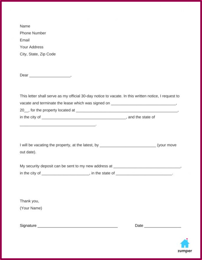 Business Moving Notice Template