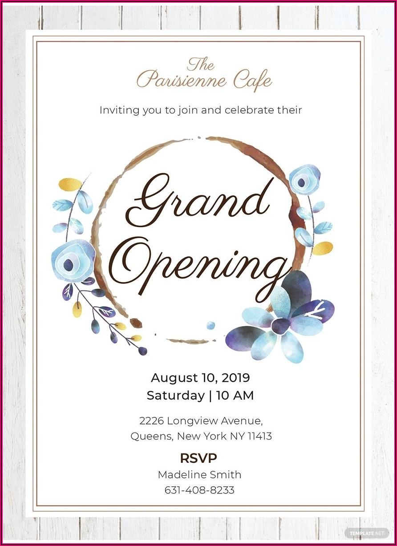 Business Opening Invitation Wording