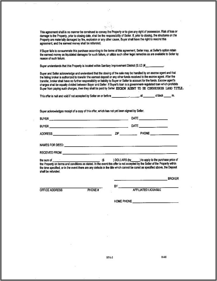 Car Sales Contract Template Word