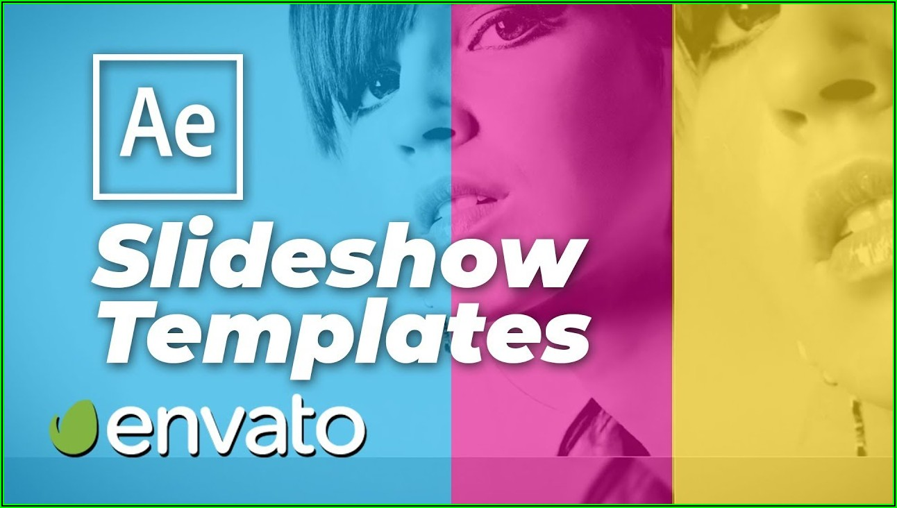 Carousel Photo Slideshow After Effects Template