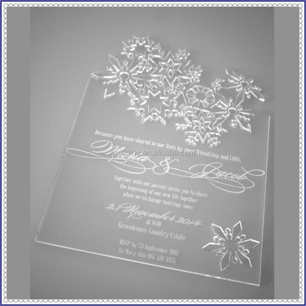Cheap Laser Cut Wedding Cards