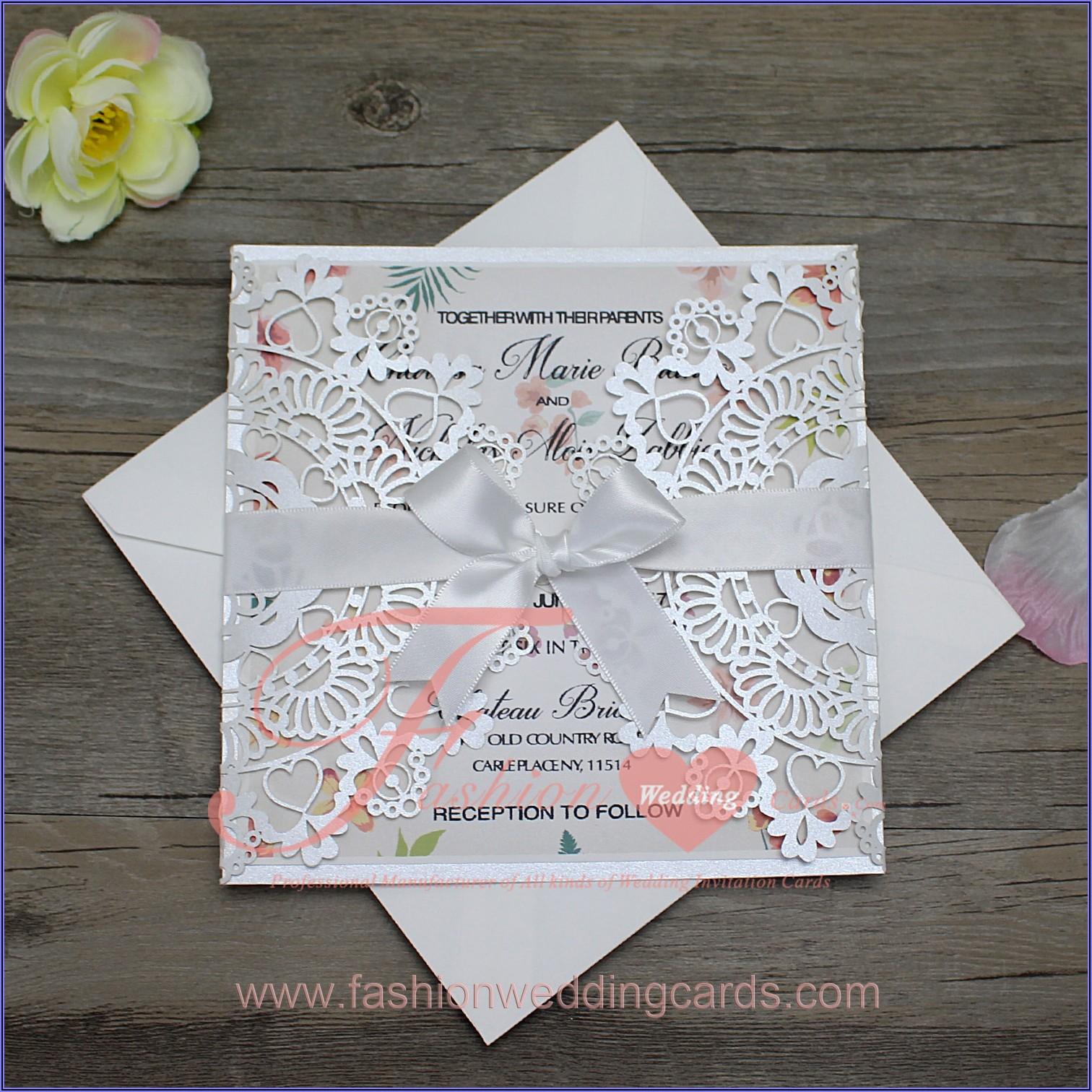 Cheap Laser Cut Wedding Invitations Uk
