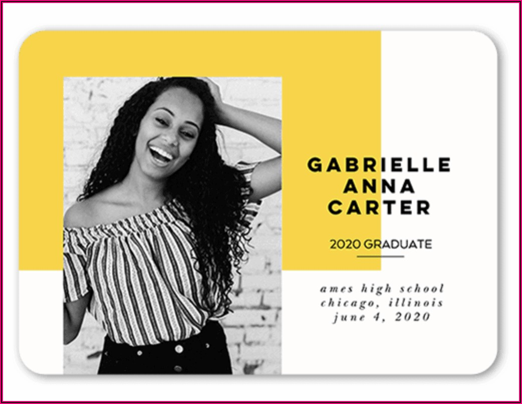 College Graduation Announcement Wording 2020