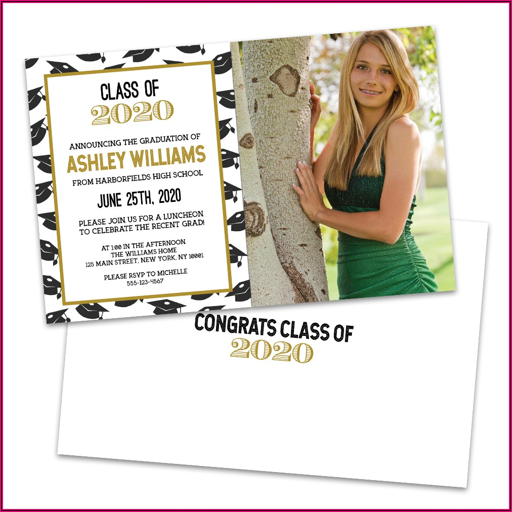 College Graduation Announcements Walmart