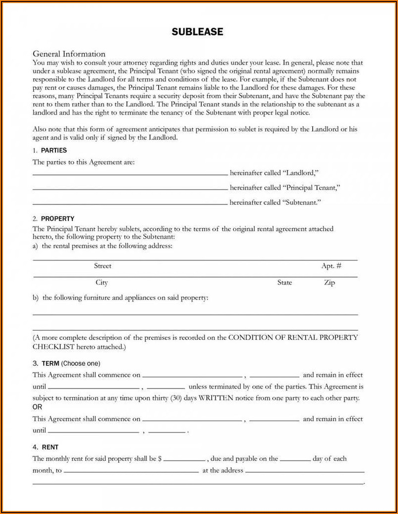 Commercial Lease Agreement Pdf California