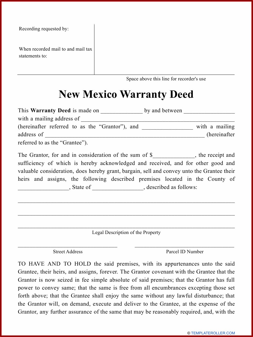 Cook County Quit Claim Deed Form Pdf