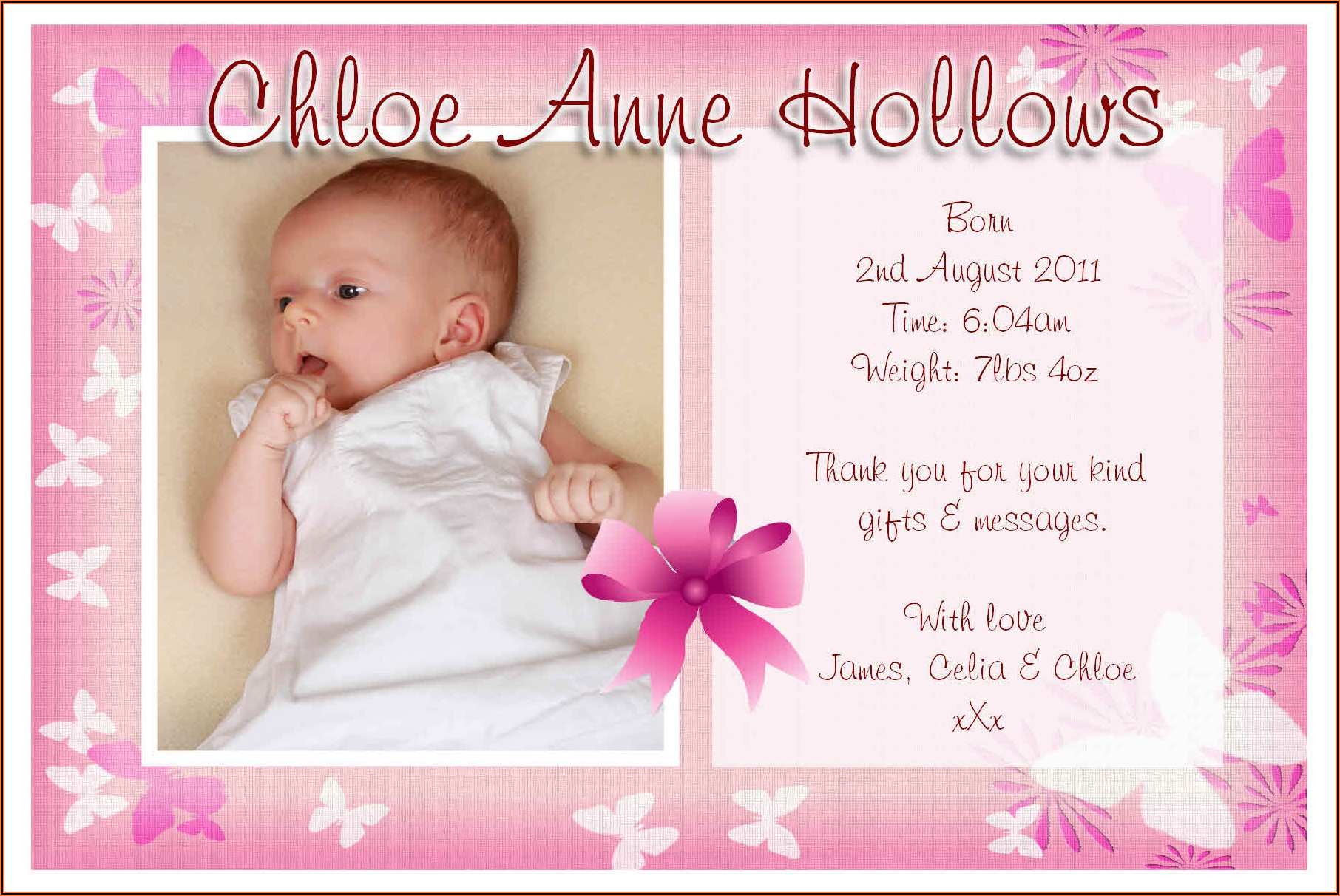 Cute Baby Arrival Announcement Captions