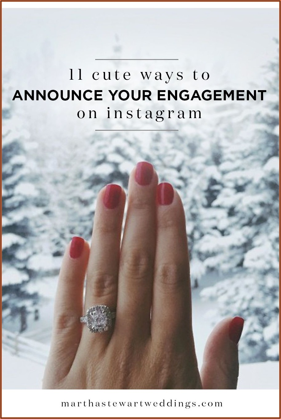 Cute Ways To Post Engagement On Facebook