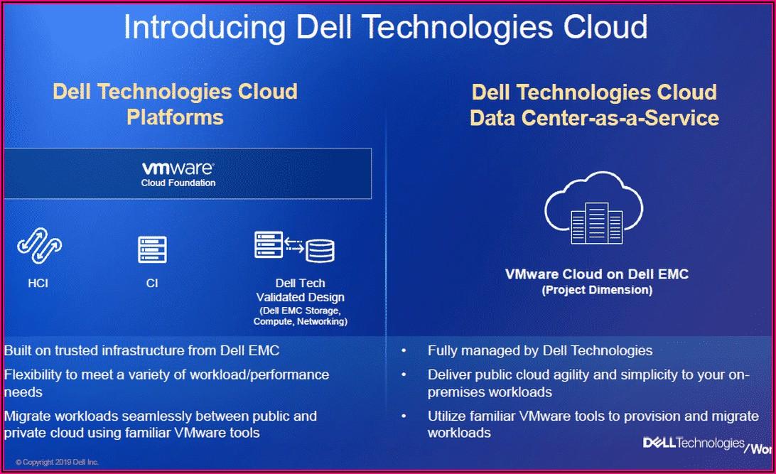 Dell Emc World 2019 Announcements
