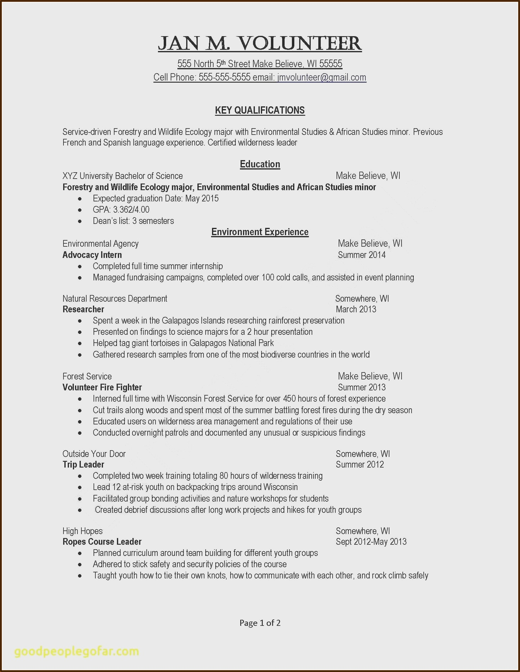 Dental Resume Template Free