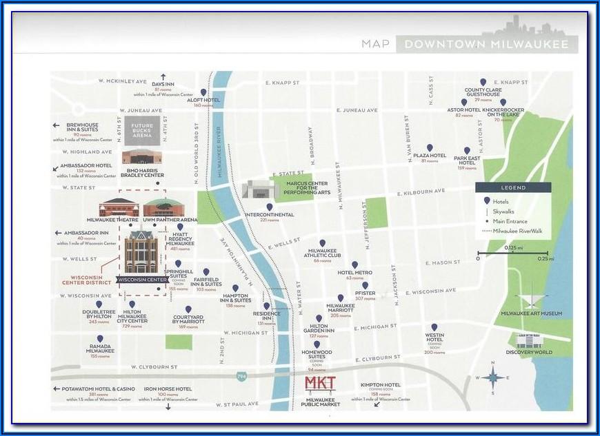Denver Airport Hotels Map