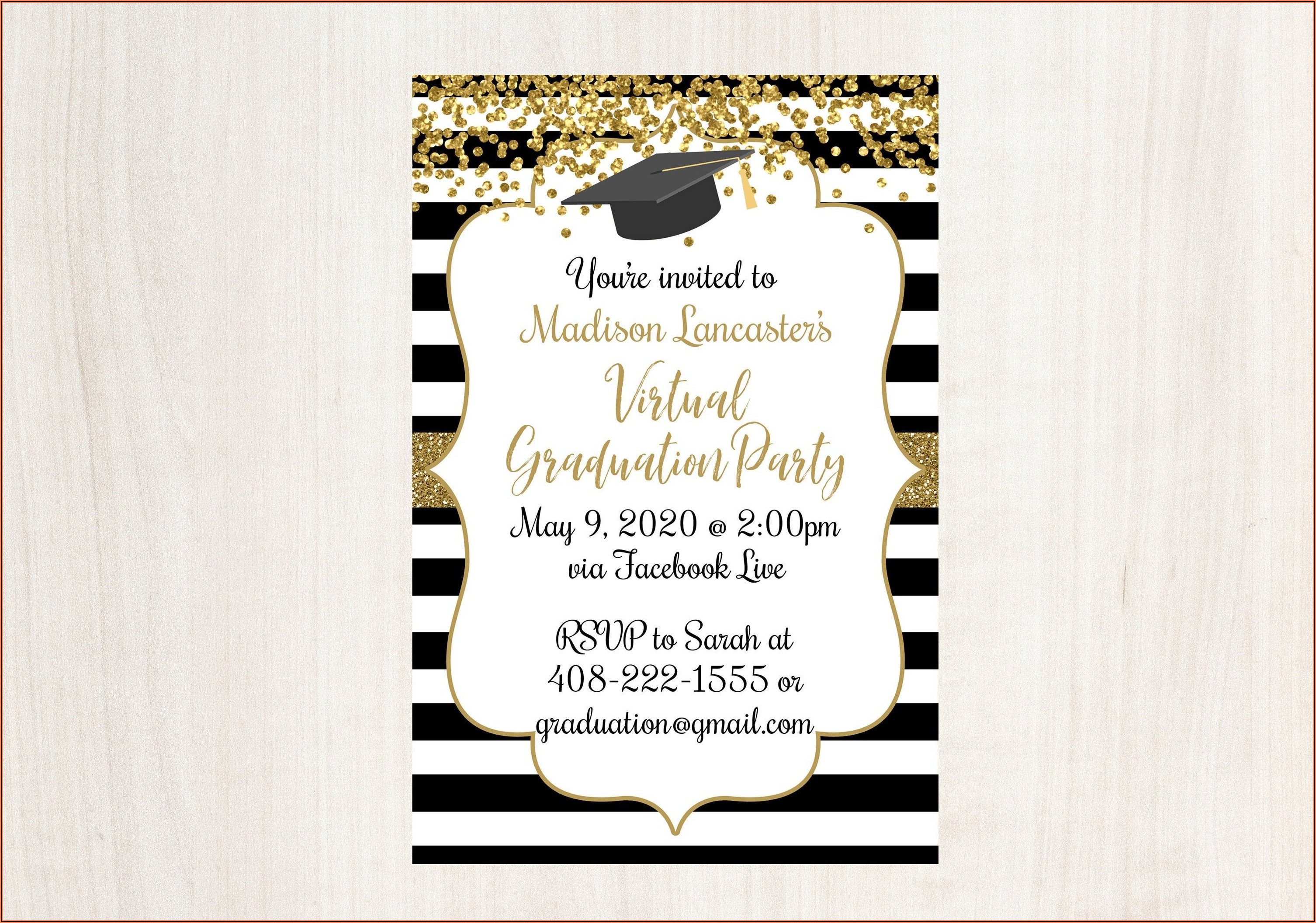 Difference Between Graduation Announcement And Invitation