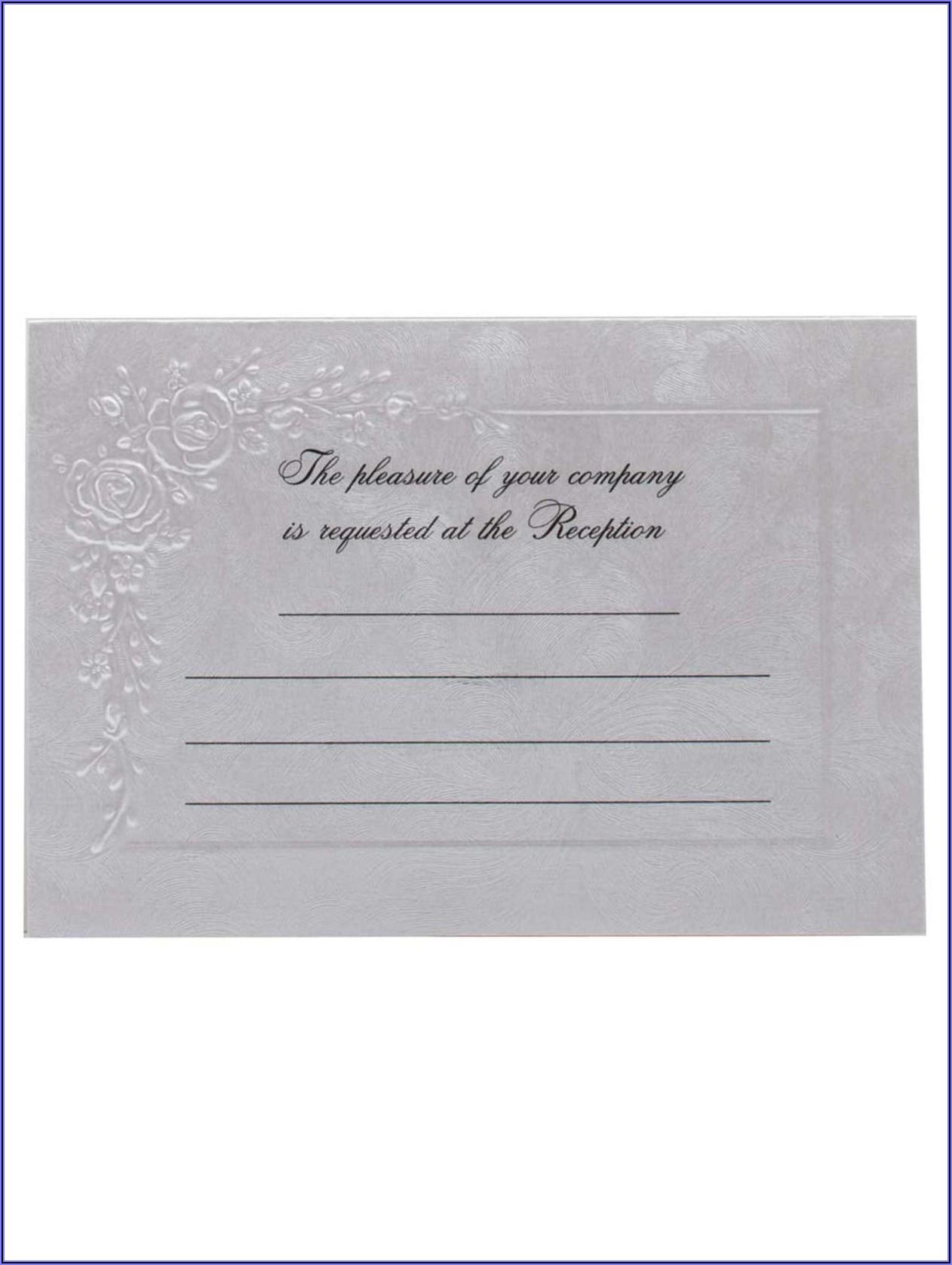 Does Office Depot Print Wedding Invitations