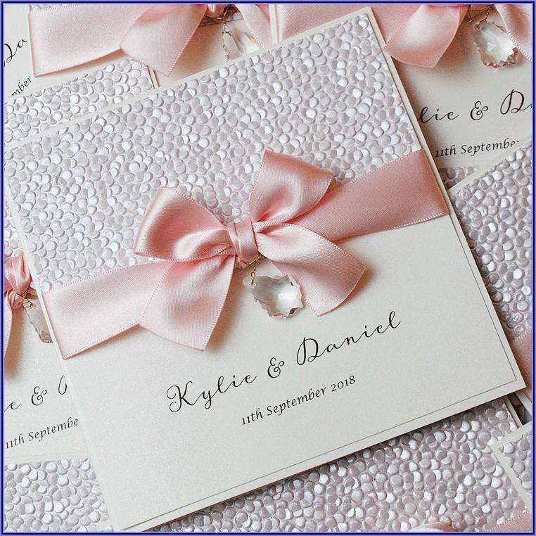 Dusky Pink Wedding Invitations Uk