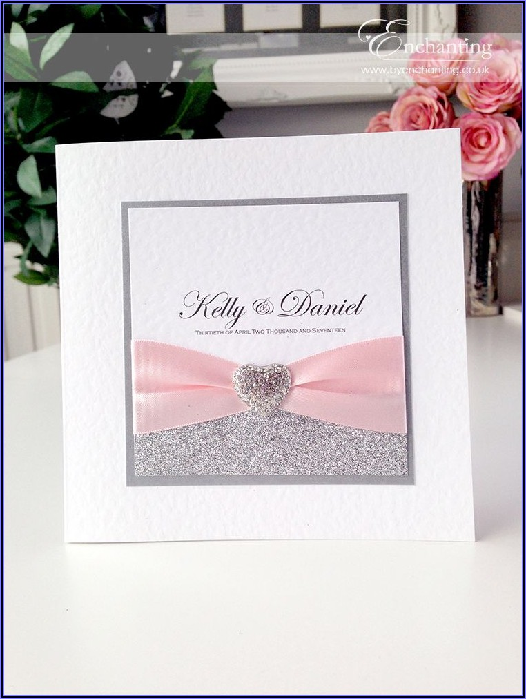 Dusty Pink Wedding Invitations Uk