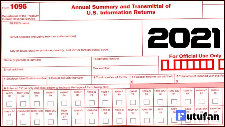 E File Form 1099 And 1096