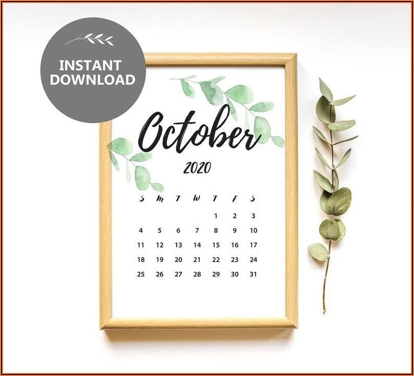 Etsy Baby Announcement Calendar