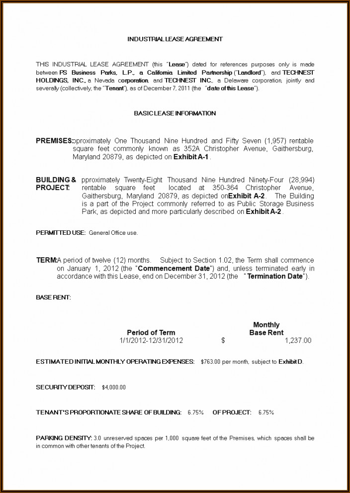Farm Land Lease Agreement Template Free