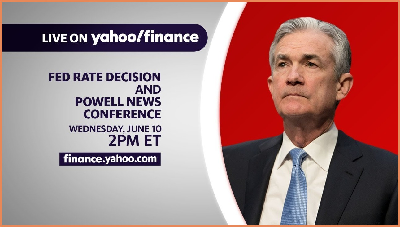 Fed Announcement Today Live