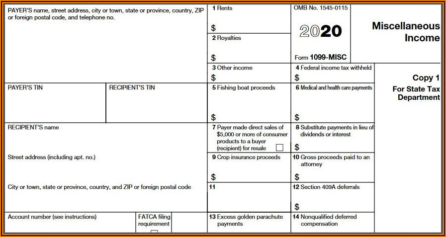Form 1096 And 1099 Due Date