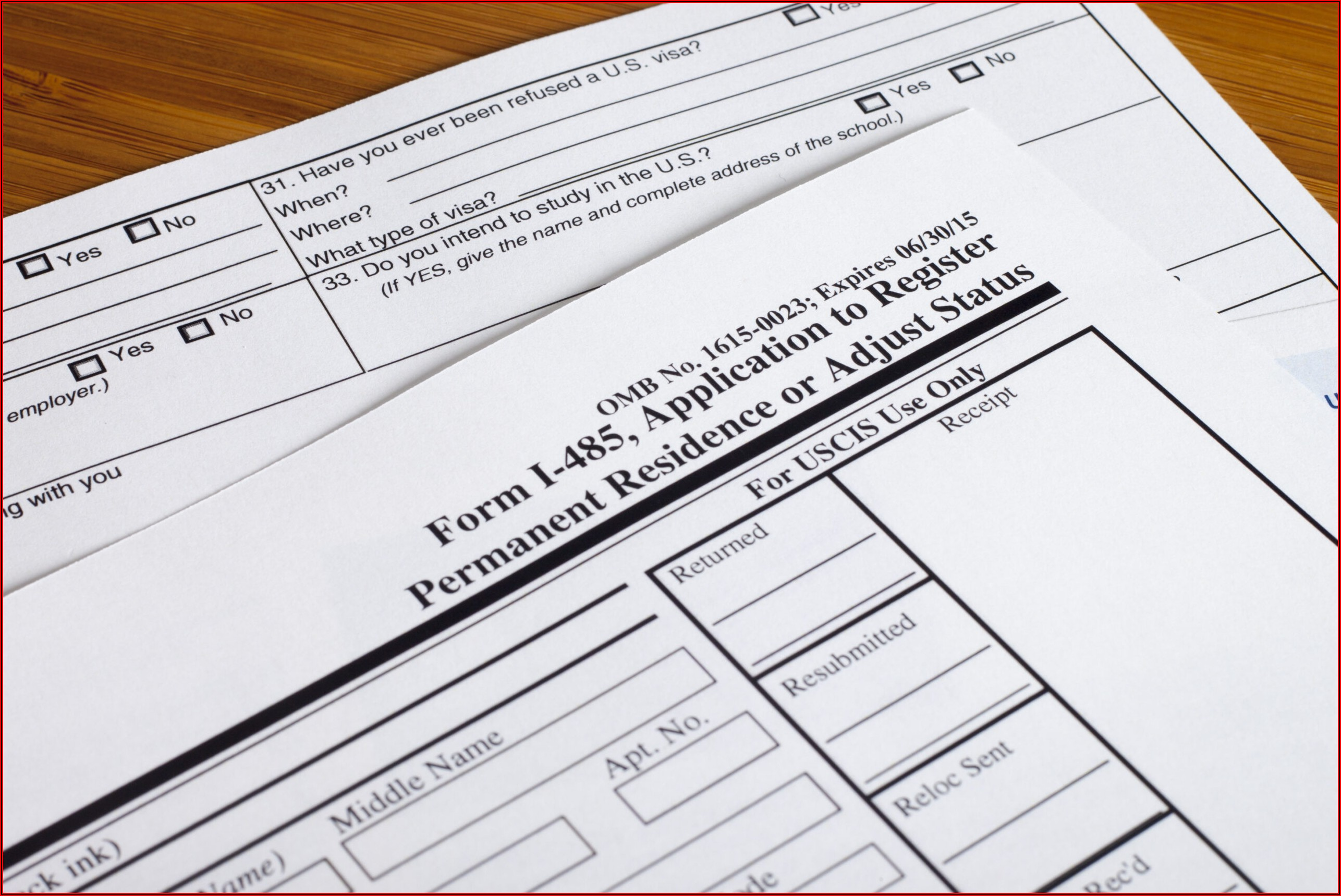 Forms For Green Card Application Through Marriage