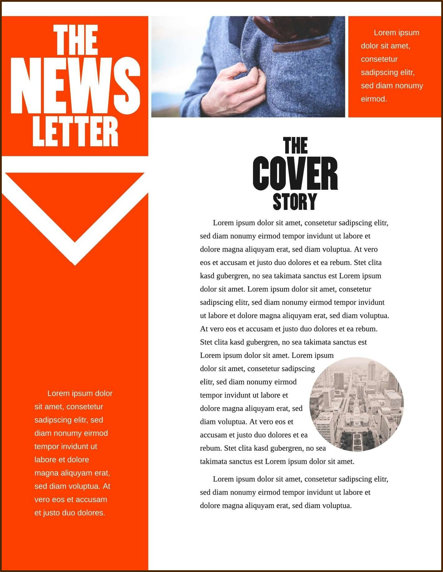 Free Email Newsletter Templates Word