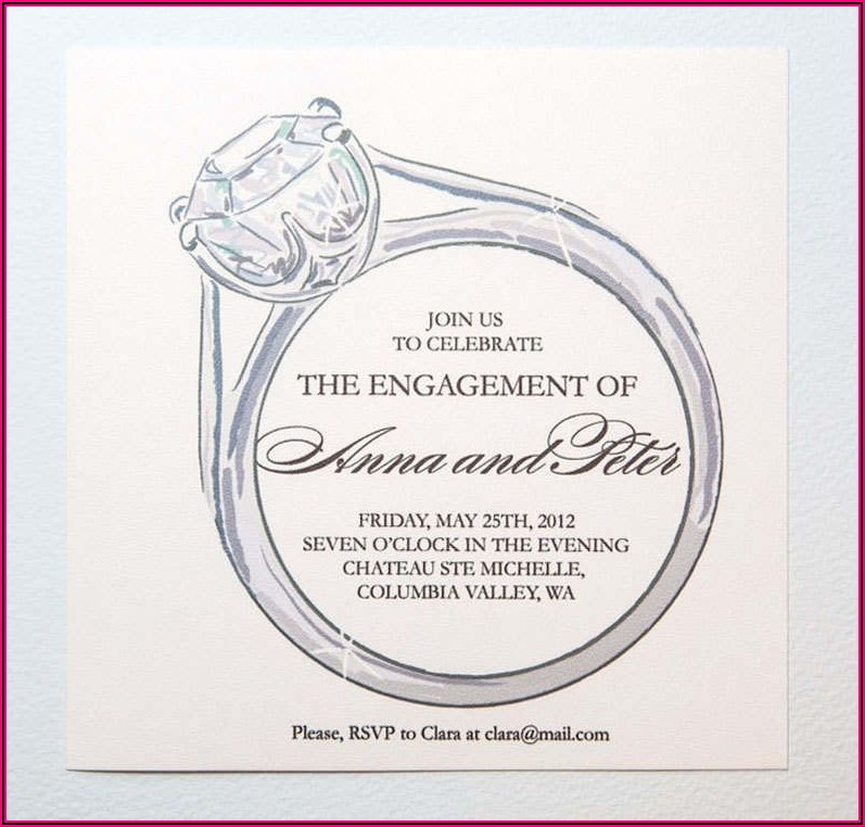 Free Engagement Invitations Templates