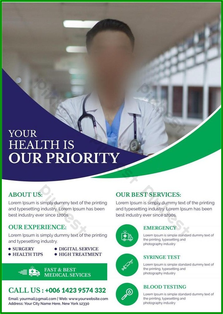 Free Healthcare Flyer Templates