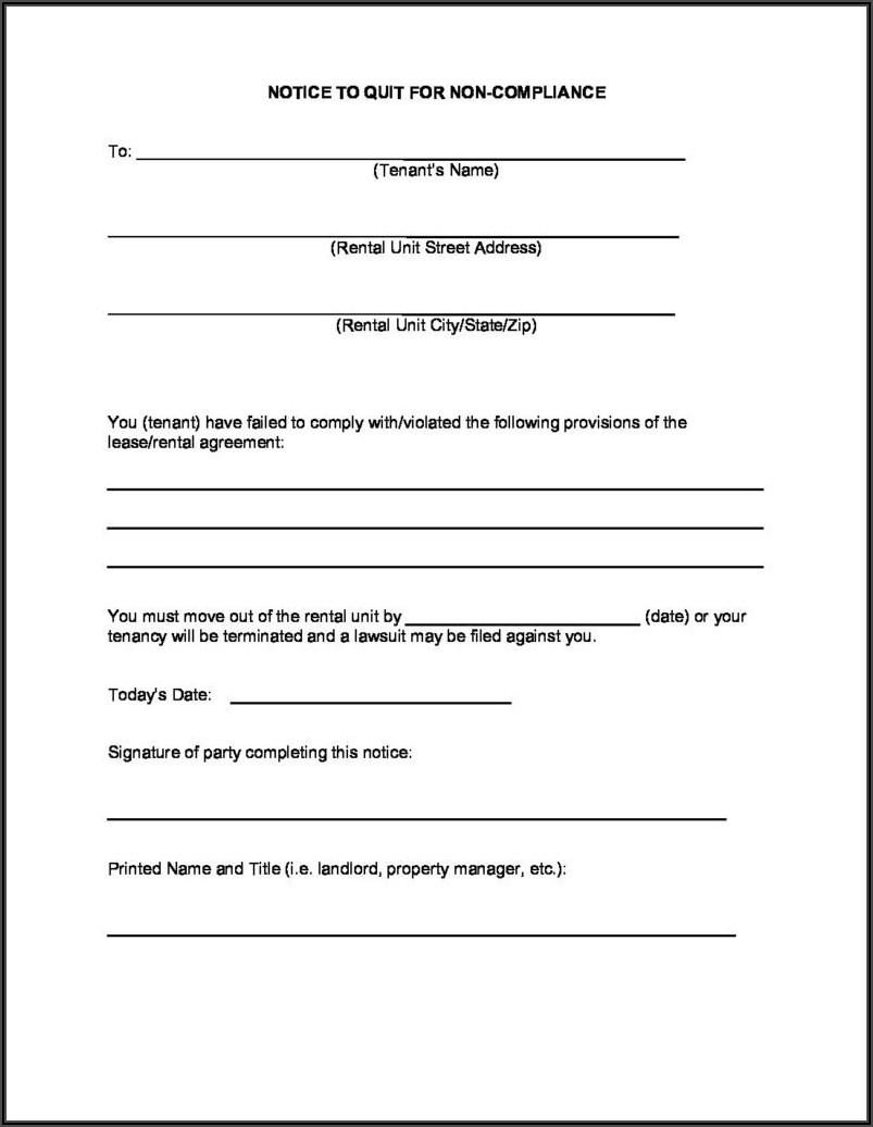 Free Louisiana Eviction Notice Form
