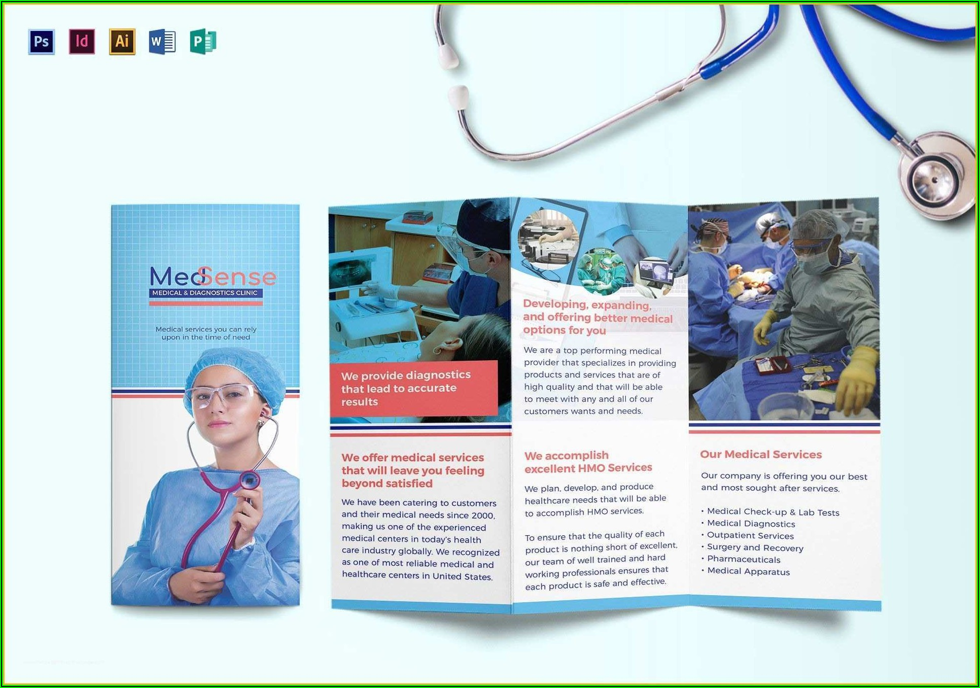 Free Medical Flyer Templates For Word