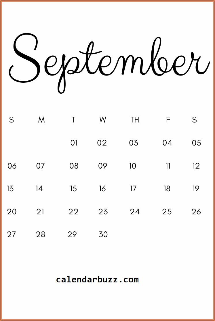 Free Printable Pregnancy Announcement Calendar August 2020