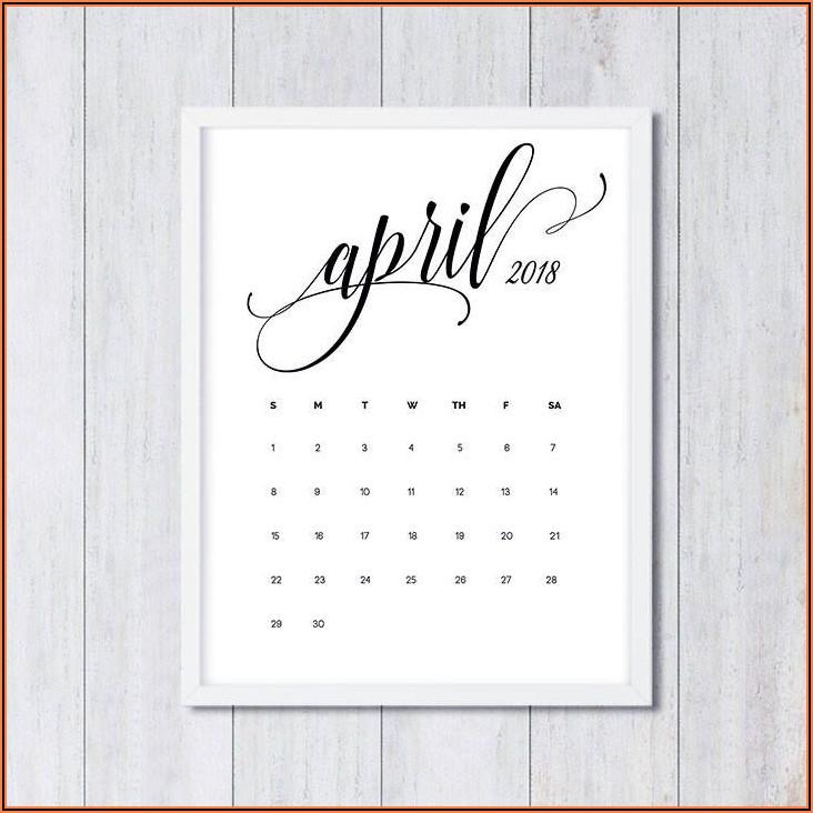 Free Printable Pregnancy Announcement Calendar November 2020