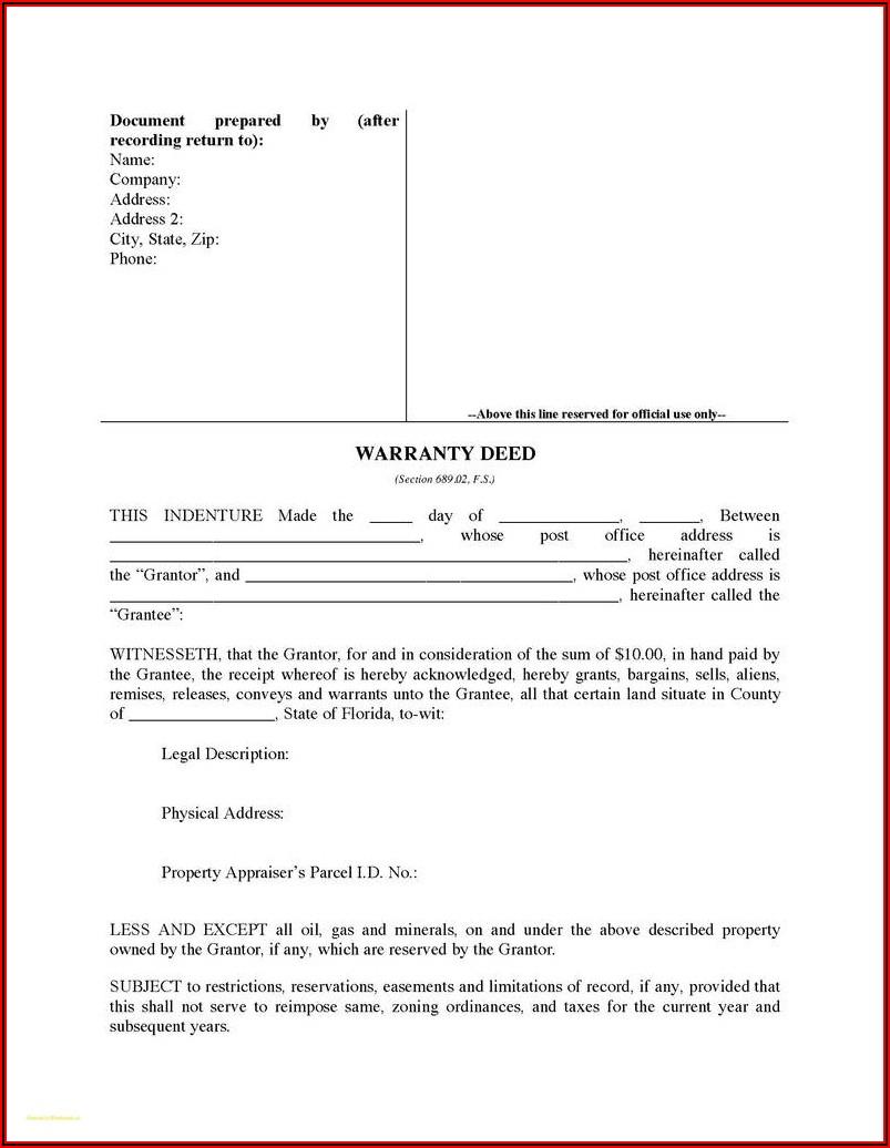 Free Quit Claim Deed Form California