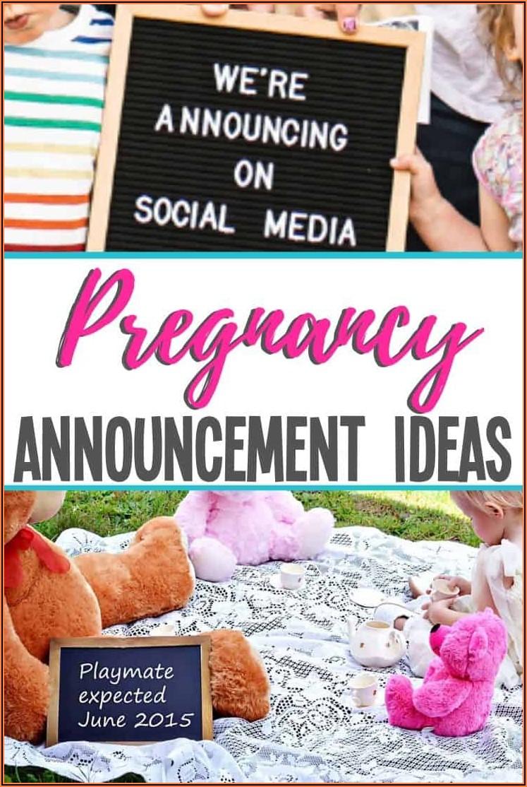 Fun Pregnancy Announcement Wording