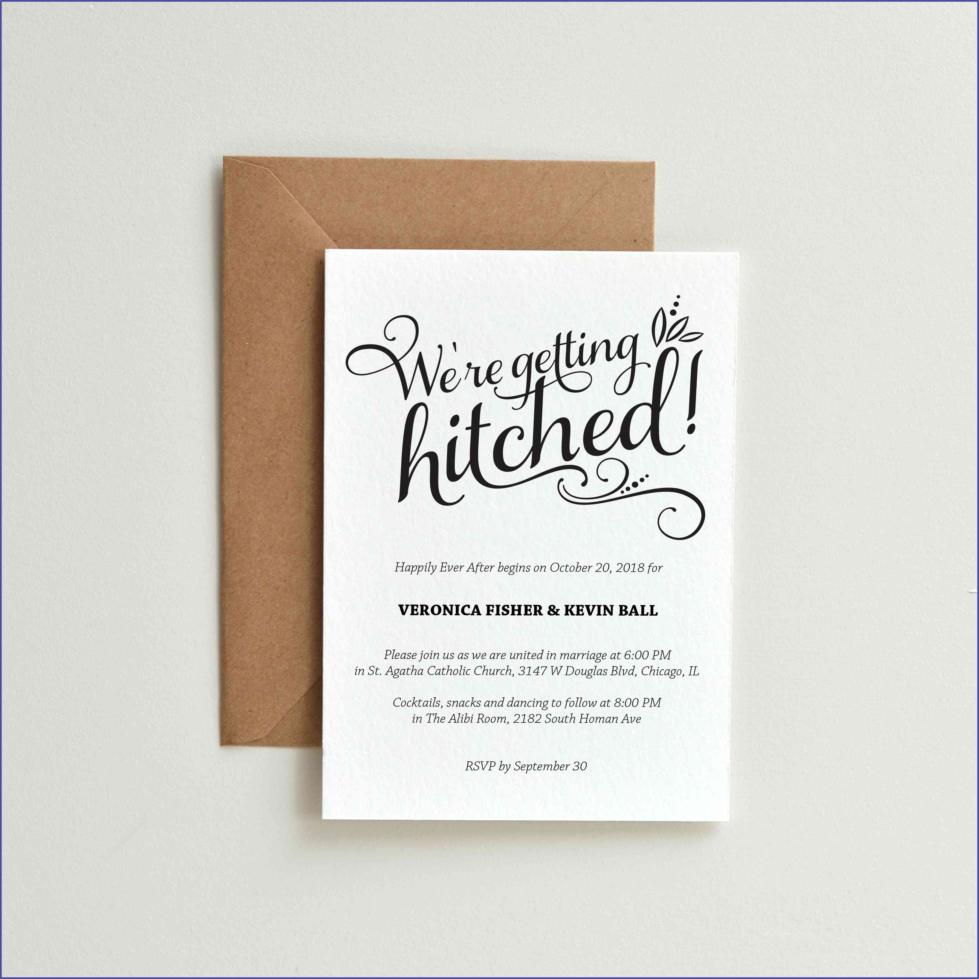 Funny Wedding Invitation Mail To Colleagues