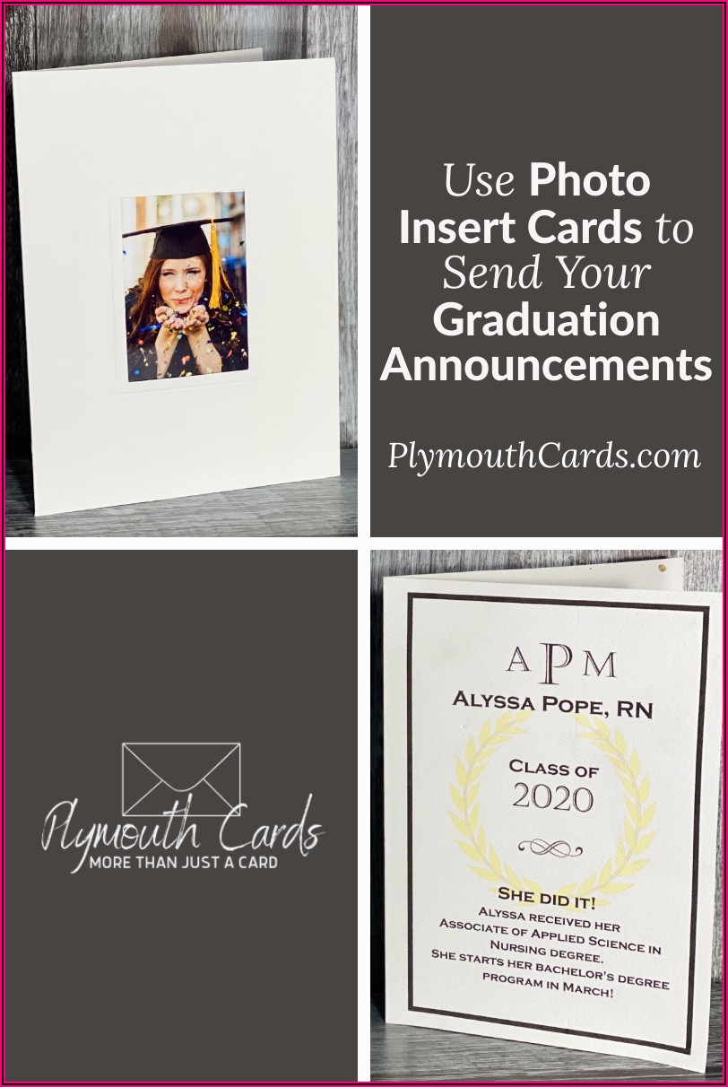 Graduation Announcements With Wallet Photo Insert
