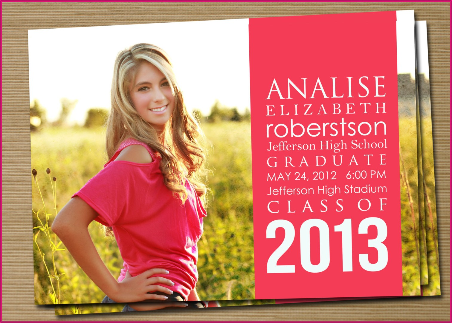 Graduation Announcements Wording Valedictorian