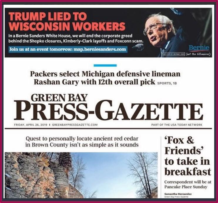 Green Bay Press Gazette Birth Announcements