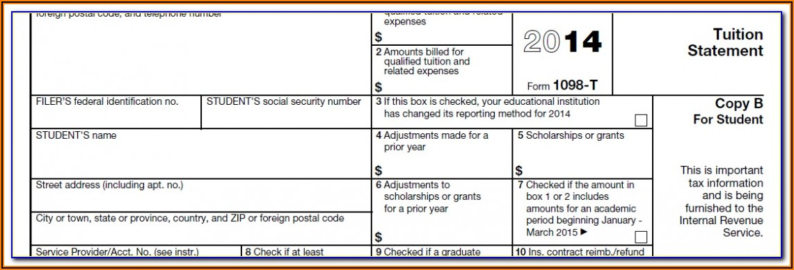How To File A 1098 T Form