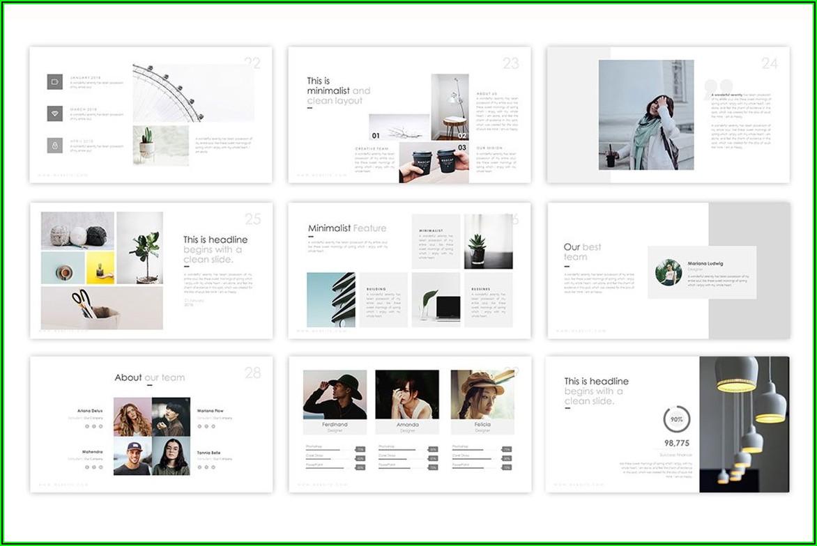 Interior Design Portfolio Ppt Templates Free Download