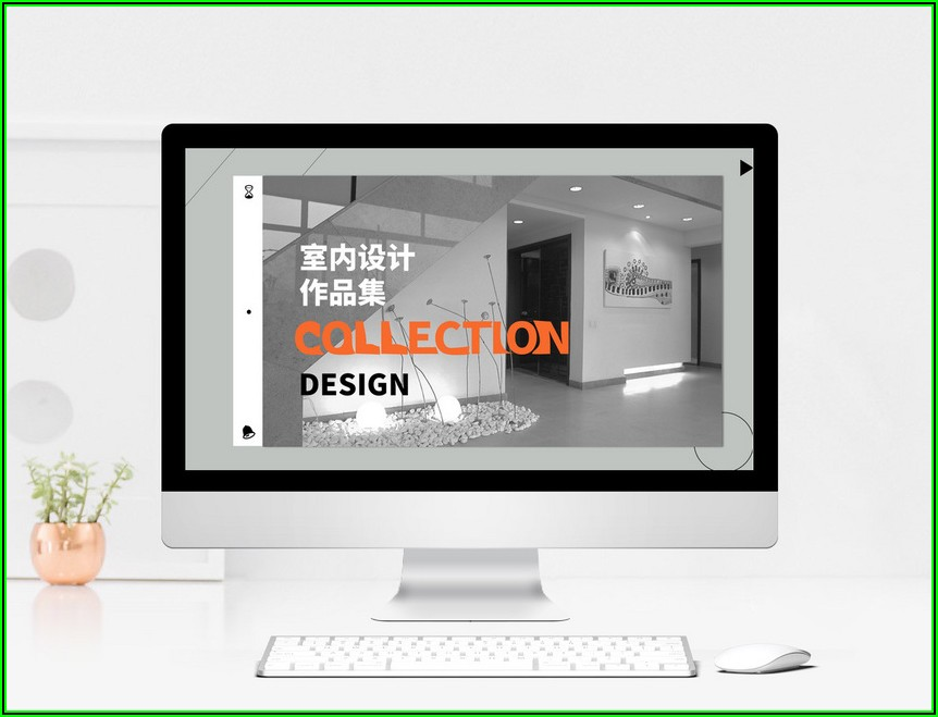 Interior Design Portfolio Template Ppt Free Download