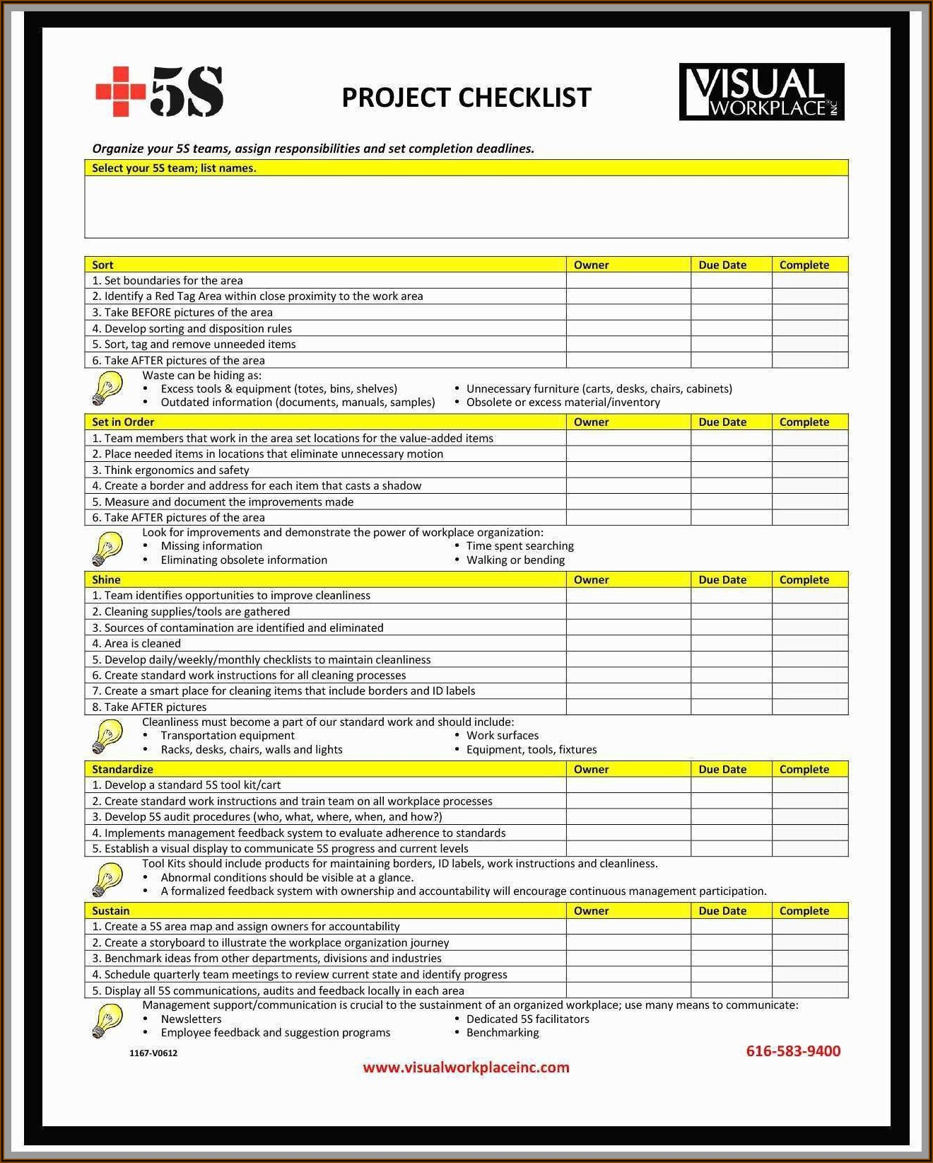Iso 27001 Checklist Template