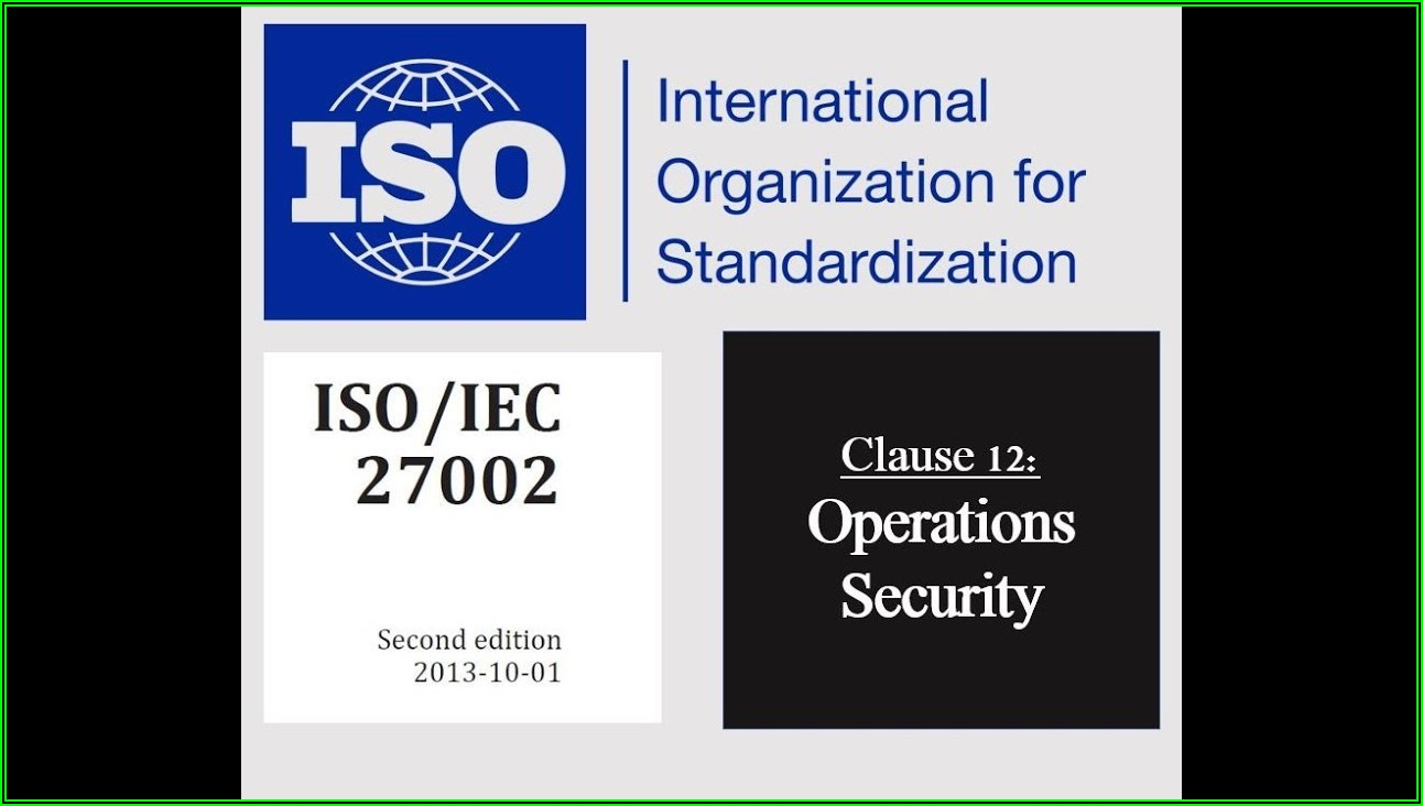 Iso 27001 Security Policy Template