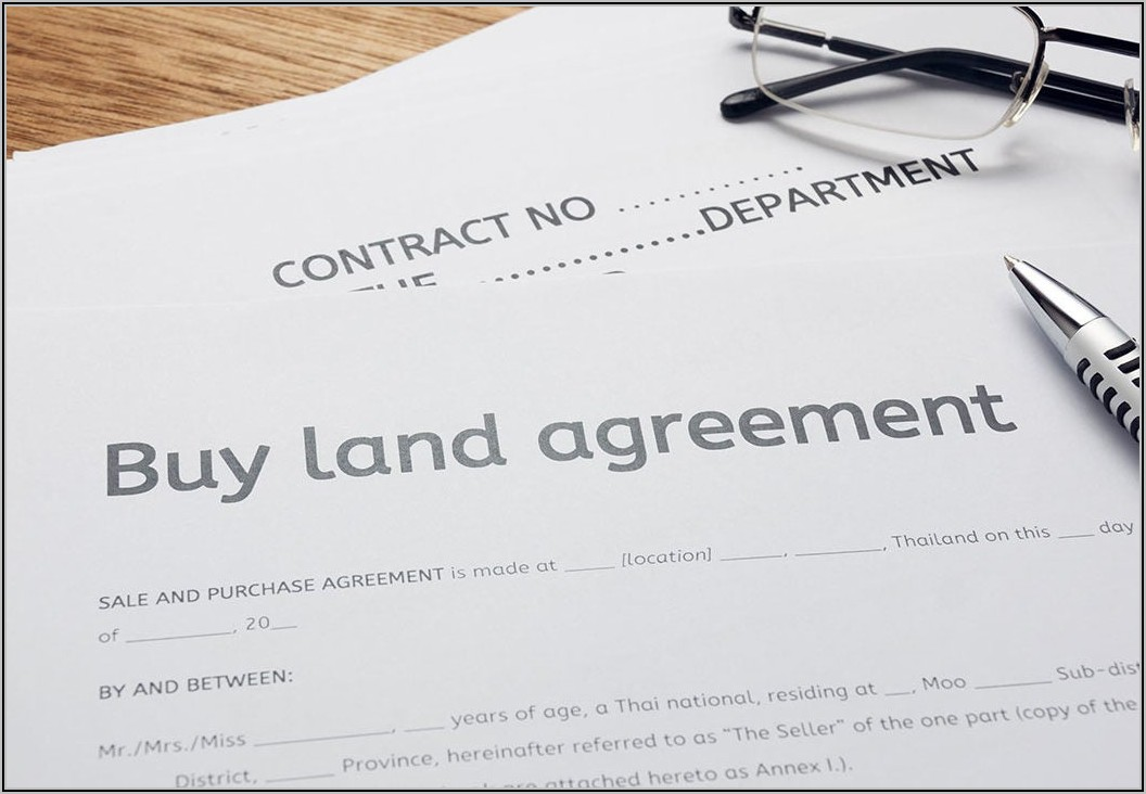 Land Rent Contract Template