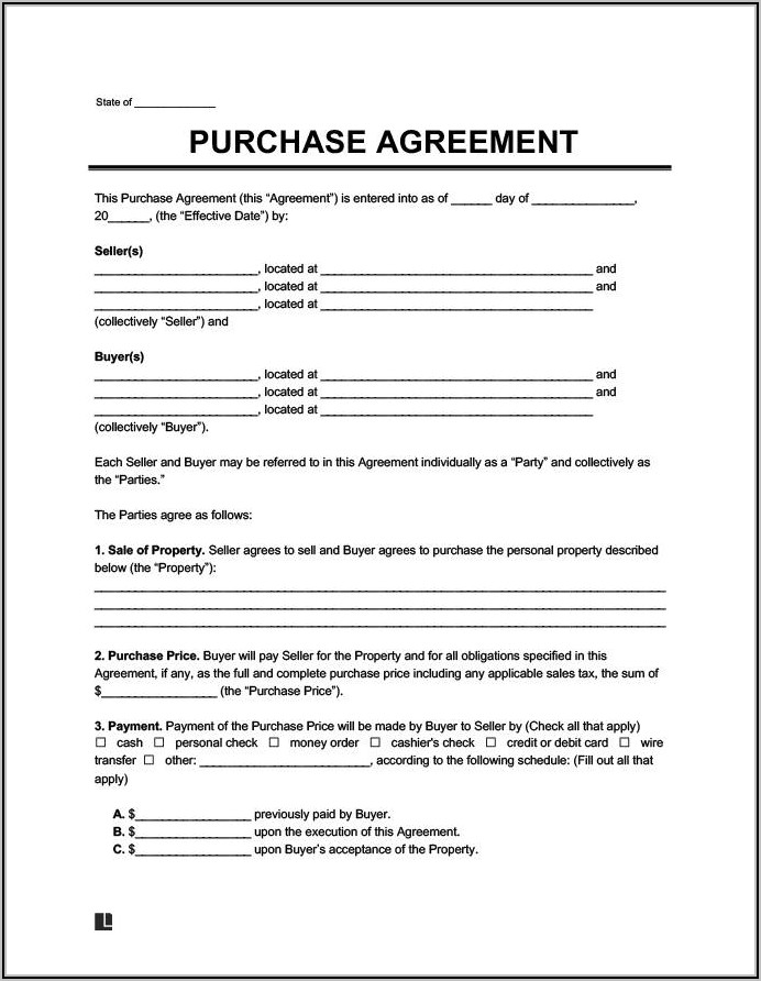 Land Rental Contract Sample